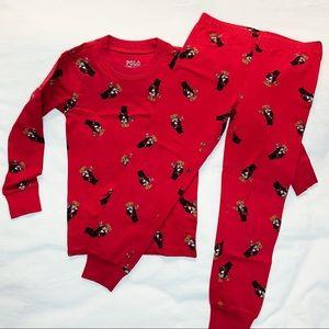 Ralph Lauren Polo Bear Stretch Pajama Set